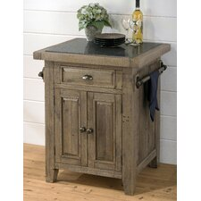 Slater Mill Kitchen Cart with Granite Top