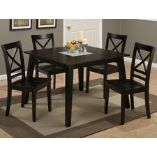Roasted Java 5 Piece Dining Set