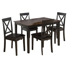 Burly 5 Piece Dining Table Set