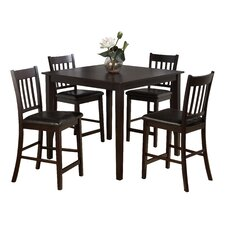 Marin Country Merlot 5 Piece Dining Table Set