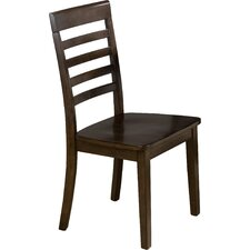 Taylor Ladderback Side Chair in Cherry (Set of 2)