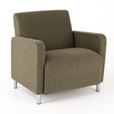 Ravenna Series Lounge Chair with Wood Frame
