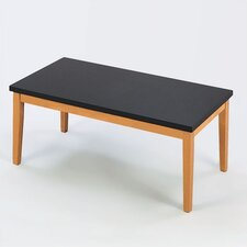 Lenox Coffee Table with Black Melamine Top