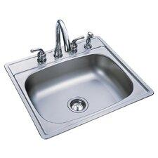 """25"""" x 22"""" 4 Hole Kitchen Sink"""