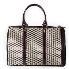 JL Duffel Quilted Luxe Pet Carier