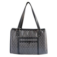 Petote Payton Reverse Noir Dots Dog Carrier