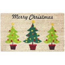 Christmas Trees Coco Doormat