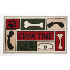 Chow Time Accent Mat