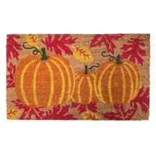 Harvest Pumpkins Doormat