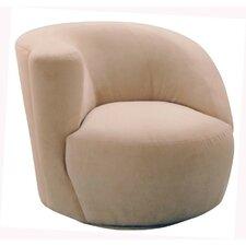 Scroll Corkscrew Left Swivel Chair