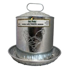 Metal Wall Chicken Water Fountain