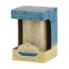 Pacific Accents Wax Pillar Candle