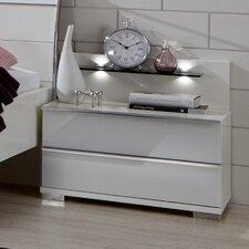 2-tlg. Nachttisch-Paneel-Set Loft