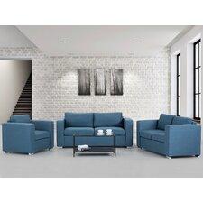 Helsinki 3 Piece Living Room Set