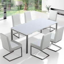 Arctic II 7 Piece Dining Set