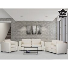 Helsinki European Design Genuine Sofa Set