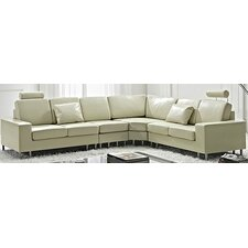 Stockholm Leather Sectional