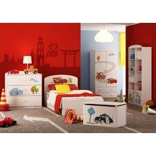 Schlafzimmer-Set Cars, 90 x 190 cm