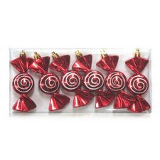 Swirled Ornament (Set of 6)