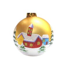 Hand Painted Tree Ornament (Set of 17)