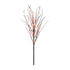 3' Halloween Tree Branch with 60 Colored LED Lights
