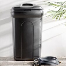Wayfair Basics 45 Gallon l Wheeled Trash Can with Hook and Lock Handle