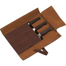 Twin 1731 4-pc Leather Knife Roll Set