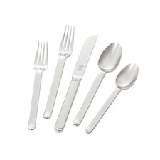 Captivate 5 Piece 18/10 Stainless Steel Flatware Place Set