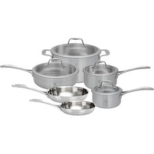 Spirit 3-ply 10 Piece Stainless Steel Cookware Set