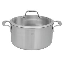 Spirit 3-ply 6-qt Stainless Steel Dutch Oven