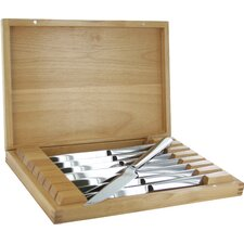 Stainless Steel Steak Knife Set with Presentation Case (Set of 8)