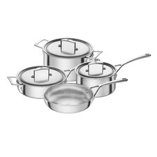 Aurora 5-Ply Stainless Steel 7-Piece Cookware Set