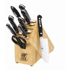 "Professional ""S"" 10pc Knife Block Set"