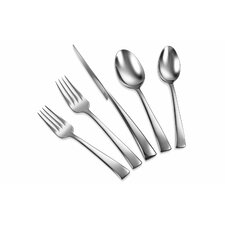 Bellasera 45 Piece 18/10 Stainless Steel Flatware Set