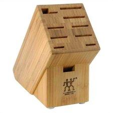 10-Slot Bamboo Knife Block