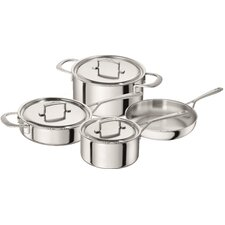 Sensation 5-ply 7-pc Stainless Steel Cookware Set