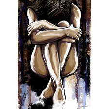 'Ashley' Painting Print on Wrapped Canvas
