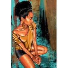 """Alexandra"" Painting Print on Canvas"