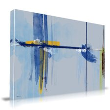 'The Horizon' Painting Print on Wrapped Canvas