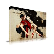 'The Dance' Graphic Art on Wrapped Canvas