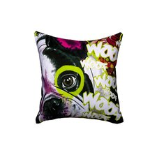 'French Dog' Throw Pillow