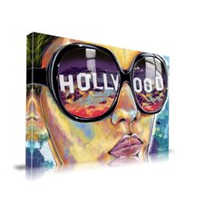 Land of Dreams Hollywood Fashion Graphic Art on Canvas