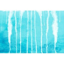 Abstract 'Drips' Painting Print on Wrapped Canvas