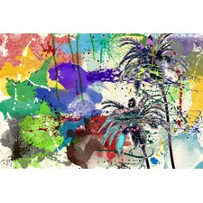 'California Breeze' Painting Print on Canvas