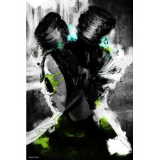 Flight Girl Painting Print on Wrapped Canvas