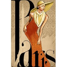 Jolie Vintage Advertisement on Wrapped Canvas
