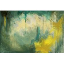 'Serenity' Abstract Painting Print on Wrapped Canvas
