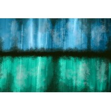Abstract 'Rain Mist' Painting Print on Wrapped Canvas