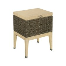 Inspirations Raffia Box on Stand