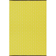 Arabian Nights Yellow Indoor/Outdoor Area Rug